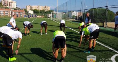 Messina nel test-allenamento cinque reti al Torregrotta