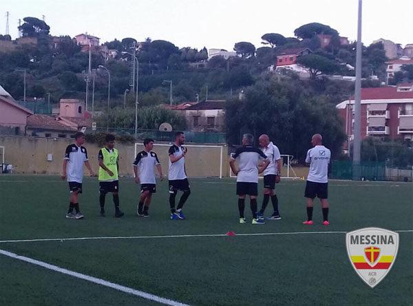 Alla ripresa degli allenamenti del Messina aggregati Guerriera e Martinez