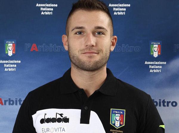 Davide Di Marco di Ciampino arbitrerà il match Messina-Città di Messina