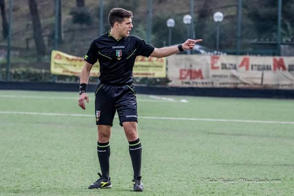 Eugenio Scarpa di Collegno arbitrerà il match tra Igea Virtus e Messina