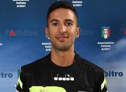 Mauro Gangi di Enna arbitrerà il match Marsala-Messina