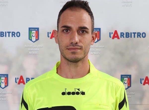 Raimondo Borriello di Arezzo arbitrerà Portici-Messina