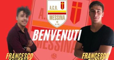 Il Messina ha ingaggiato la coppia di under Buono e Saverino