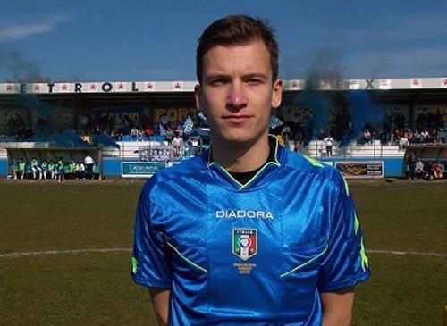 Dario Duzel di Castelfranco Veneto arbitrerà Licata-Messina