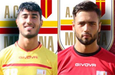 Tesserati dal Messina due under: il centrocampista Garofalo e il portiere Manno