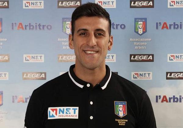 Gianluca Catanzaro di Catanzaro arbitrerà Messina-Dattilo