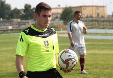 Federico Cosseddu di Nuoro arbitrerà Messina-Santa Maria Cilento