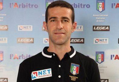 Claudio Petrella di Viterbo arbiterà il match Foggia-Messina