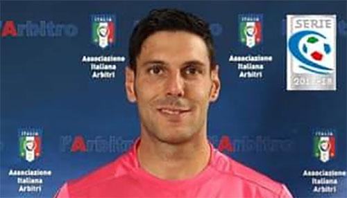 Valerio Maranesi di Ciampino arbitrerà il match Messina-Virtus Francavilla