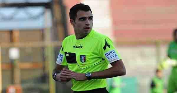 Alessandro Di Graci di Como arbitrerà Messina-Vibonese